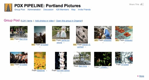 Flickr-pipeline group