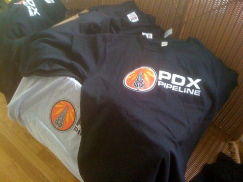 PDX Pipeline T-shirts