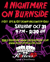 Halloween in Portland With The Rose City Rollers: Nightmare on Burnside