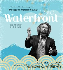 Thursday: Oregon Symphony Waterfront Concert | Fireworks, Military Cannons, Portland Youth Philharmonic & Oregon Ballet | Free