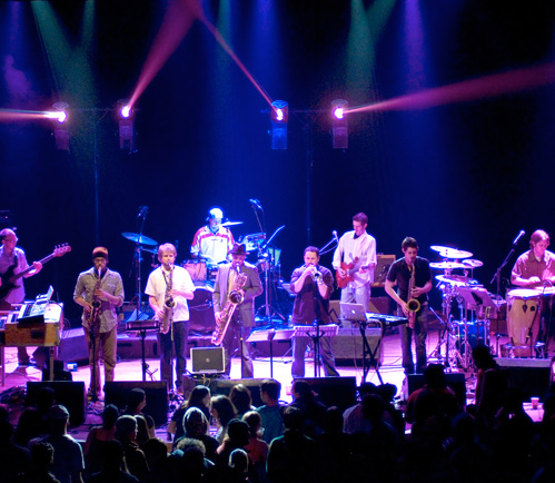 "Saturday: The Motet's Portland "" Best Of Halloween"" Show @ Mt Tabor Theater"